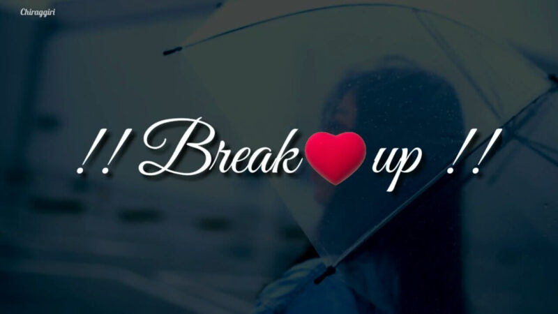 Latest break up status video 30 sec